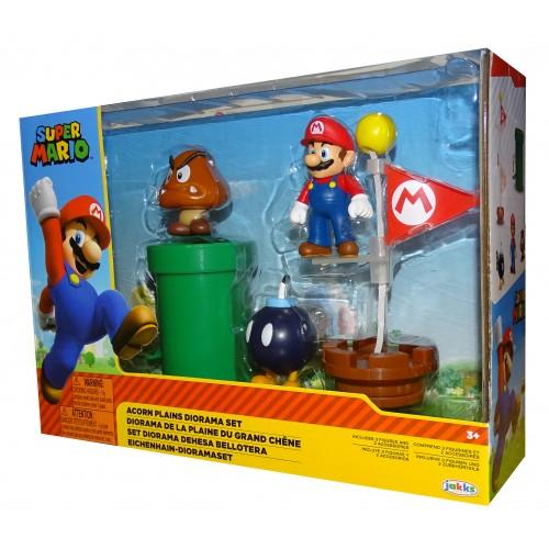 Super Mario Set Diorama Dehesa Bellotera