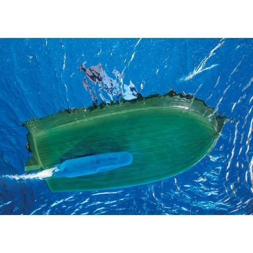 70151 Barco Pirata con Motor Submarino