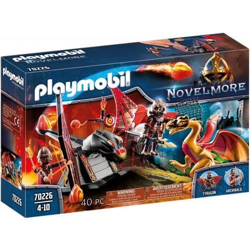 Playmobil Entrenamiento del Dragón Bandidos Burnha