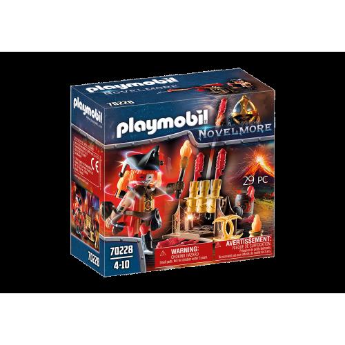 Playmobil Maestro de Fuego Bandidos Burnham