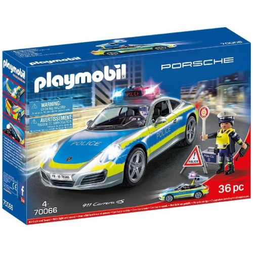 Playmobil Porsche 911 Carrera 4 S Policía
