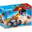 Playmobil Excavadora cargadora frontal