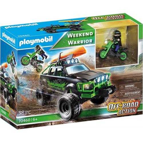 Playmobil Todoterreno Aventura + Moto