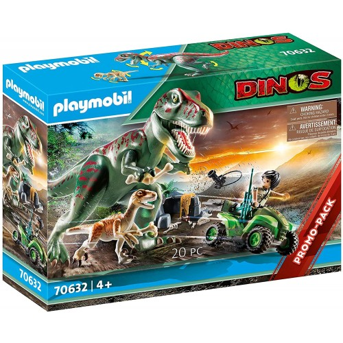 Playmobil Ataque del T-Rex