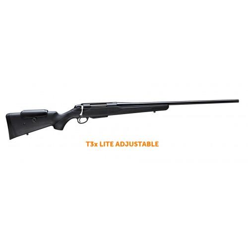 Tikka rifle T3x Lite Adjustable 7mm Rem Mag