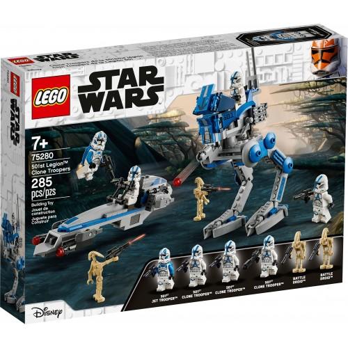 Lego Soldados Clon de la Legión 501 Star Wars