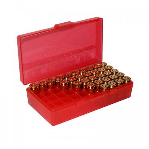 MTM Caja porta-munición calibres .38 / .357