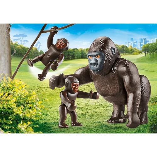 Gorila con bebés