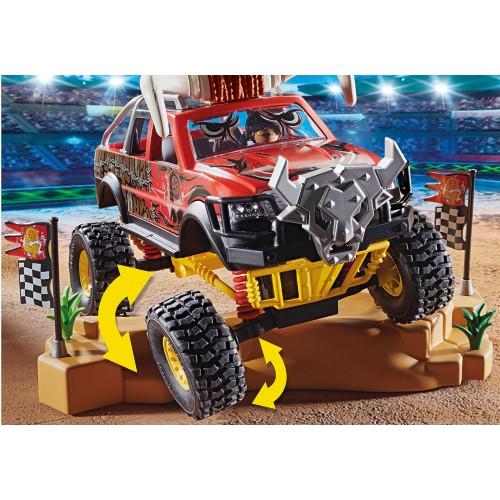 Stunt Show Monster Truck Horned