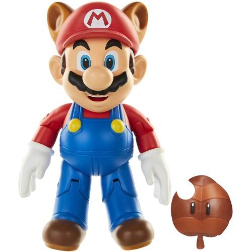 Nintendo Raccoon Mario and Super Leaf