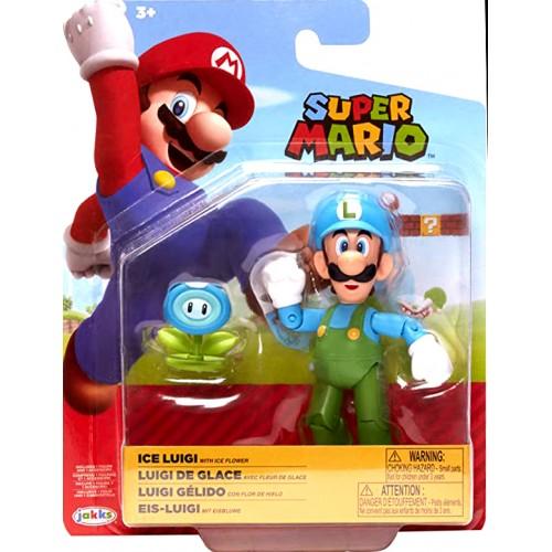 Nintendo Ice Luigi with Ice Flower