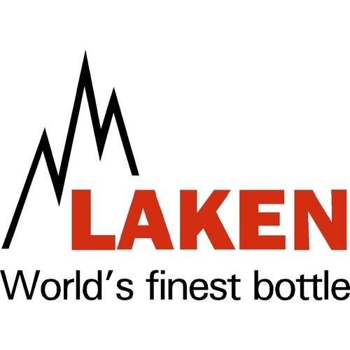 Laken Cantimplora Clásica de Aluminio con Neopreno Azul 1L