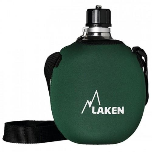 Laken Cantimplora Clásica de Aluminio con Neopreno Verde 1L