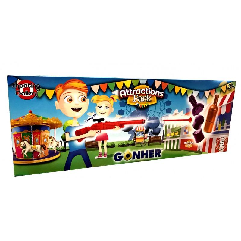 Gonher Shooting Botles Playset