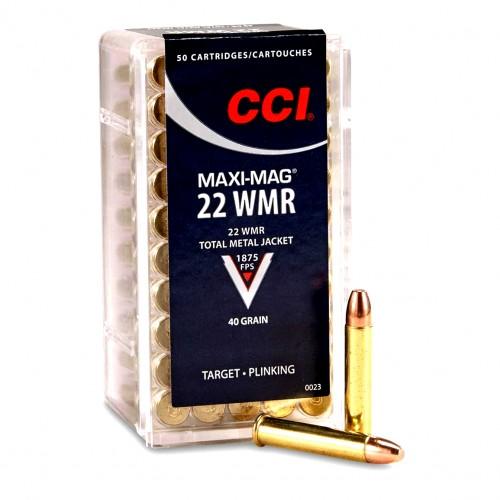 CCI 22 Win Mag Total Metal Jacket 40 Grains