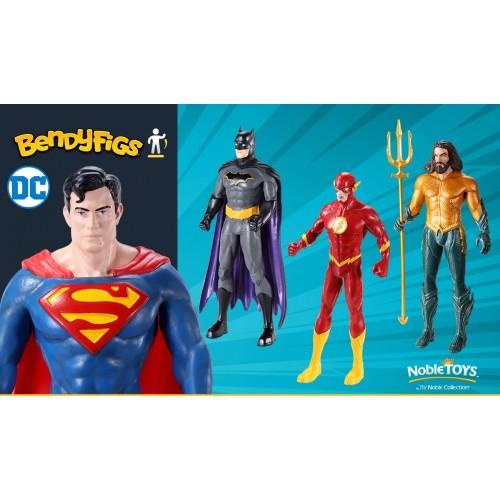 NobleToys Superman figura flexible