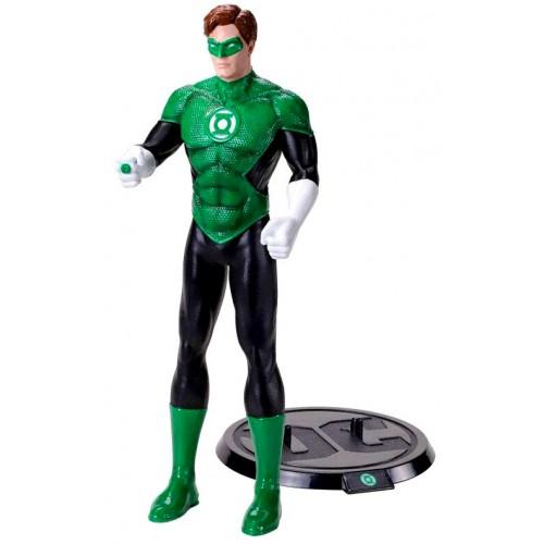 NobleToys Linterna Verde (Green Lantern) figura flexible
