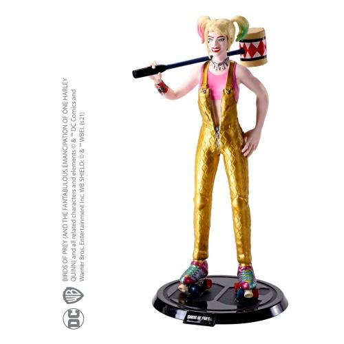 NobleToys Harley Quinn figura flexible