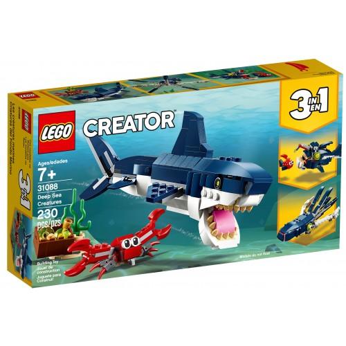 Lego Criaturas del Fondo Marino