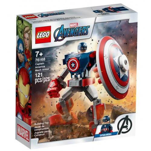 Lego Armadura Robótica del Capitán América
