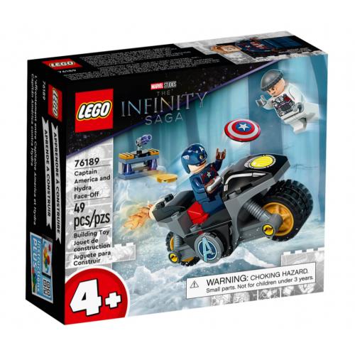 Lego Capitán América contra Hydra