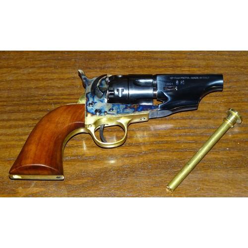 Pietta 1862 Pocket Police .44 Snubnose DeLuxe