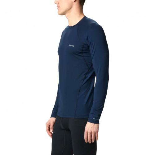 Columbia Camiseta Térmica Midweight Strecht Long Sleve Top Blue