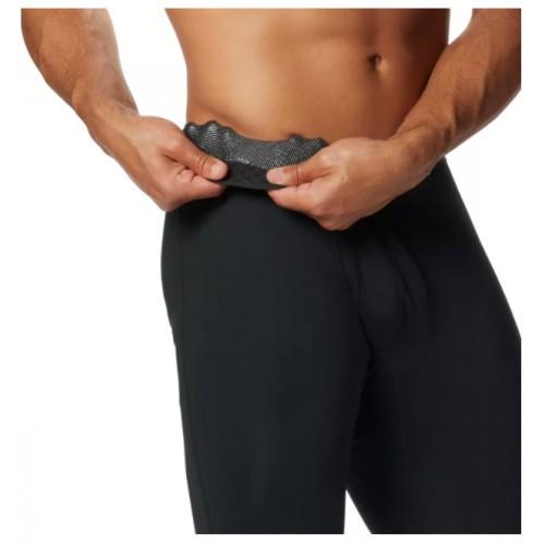 Columbia Mallas térmicas para hombre Midweight Stretch Tight Black