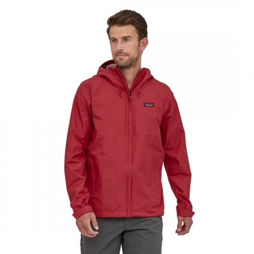 Patagonia M´s Torrentshell 3 Red Layer Jacket (Chaqueta Impermeable)
