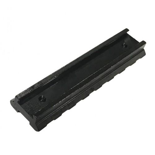 Carril Conversor de 11mm a 22mm en acero
