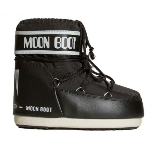 Moon Boot Nylon Classin Low Black
