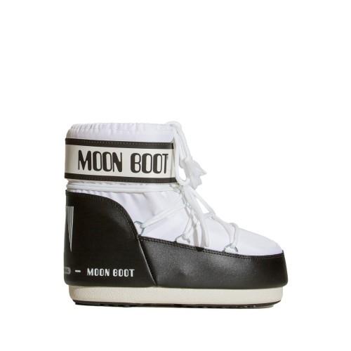 Moon Boot Nylon Classic Low White