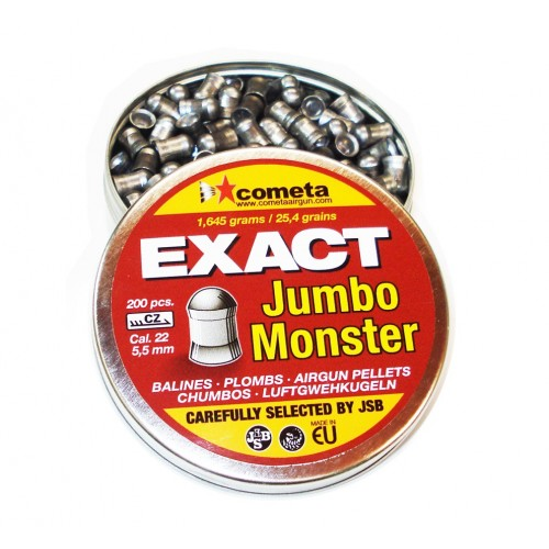 JSB Exact  Jumbo Monster 5.5mm  200 unidades