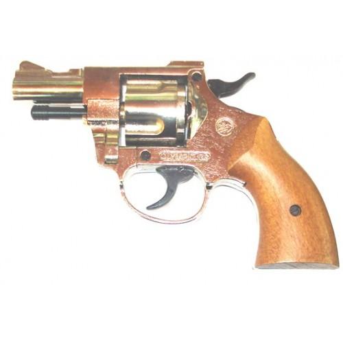 Revólver de fogueo Bruni Olimpyc .380 Nickel