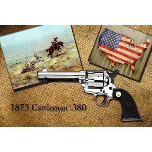 Revólver de fogueo 1873 Single Action Army .45 Inox