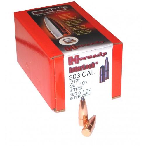 3120 Interlock  .303  150grs  SP  .312