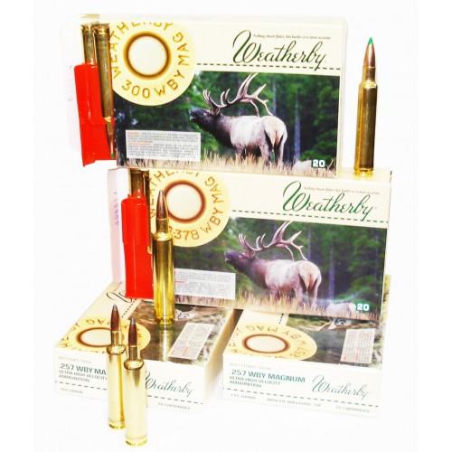 Amplia gama de munición original Weatherby