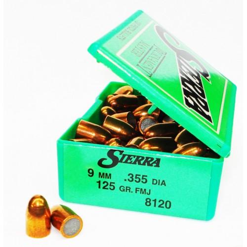 8120   9mm  .355  125 gr. FMJ