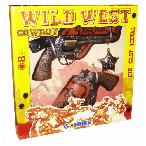 158 Wild West Cowboy Revolvers