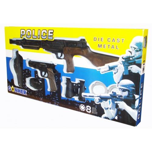 220/7  Police Super Action Force Set