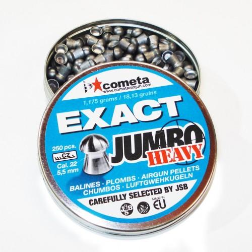 JSB Exact Jumbo Heavy 5.5 mm  250 unidades