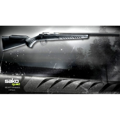 Sako Quad Heavy Barrel 22lr