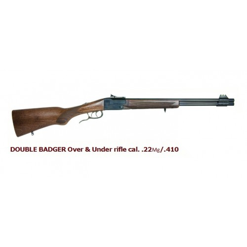 DOUBLE BADGER cal. .22Mg/.410