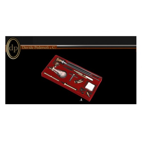 USA 336 A Equipo para carga y limpieza calibres .36, 38, .40, .44, .45, .54 y .69 de percusión