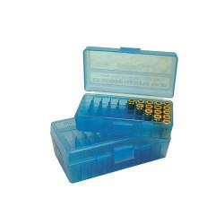 Caja porta-munición 9mm / capacidad 50 unidades