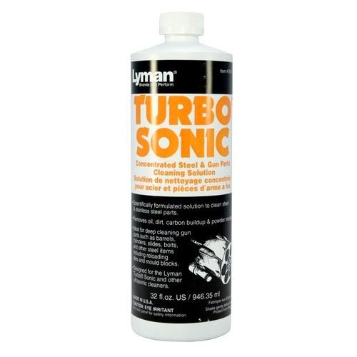 Lyman Turbo Sonic concentrado para limpieza de repuestos