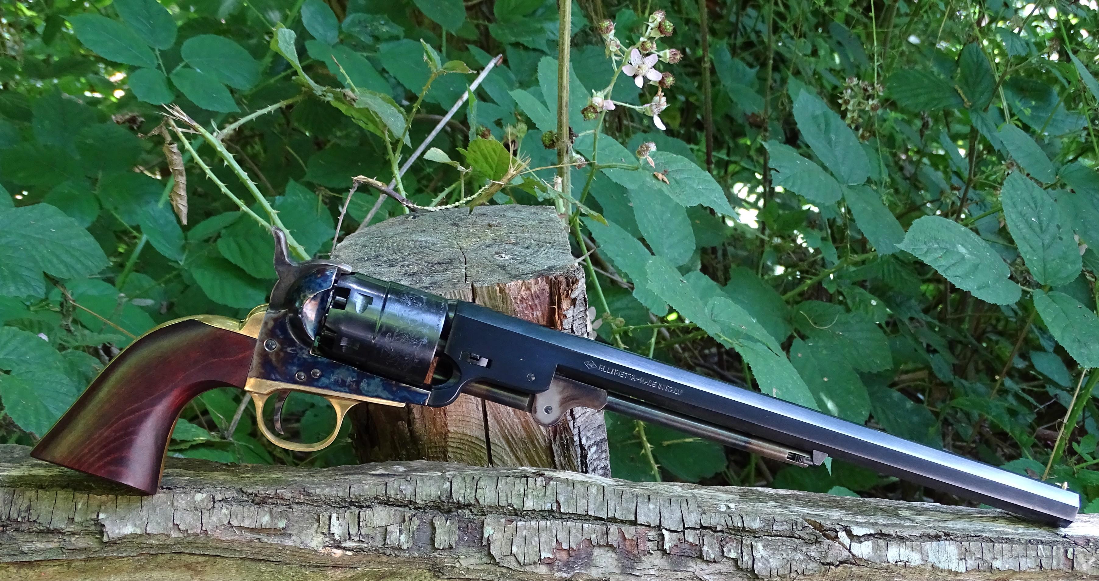 Pietta YANC44ST 1851 Navy Yank Carbine  44