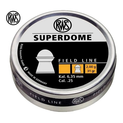 RWS Supedome 6.35mm  200 unidades