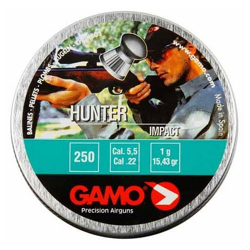Gamo Hunter 5.5mm  250 unidades