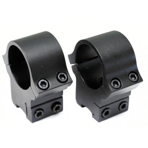"BSA Monturas carril 11mm anillas de 1"" y 30mm"
